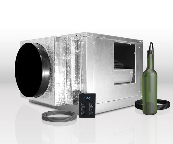 whisperkool products quantum series fully ducted split system wine cellar cooling unit