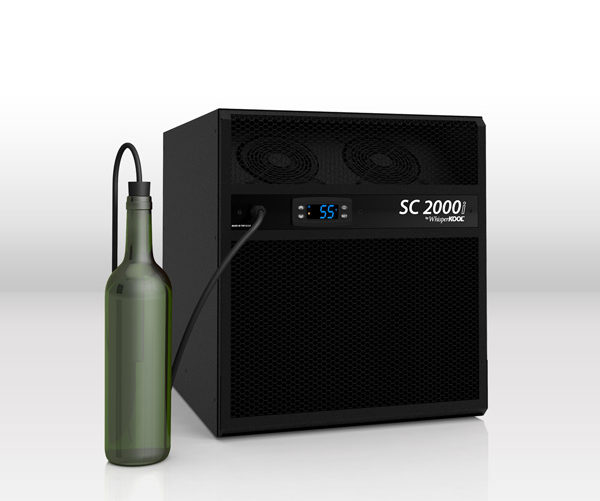 whisperkool products sc series self-contained wine cellar cooling unit