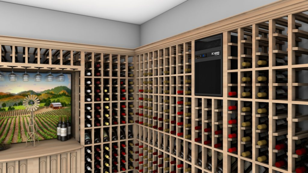 self-contained wine cellar cooling unit whisperkool